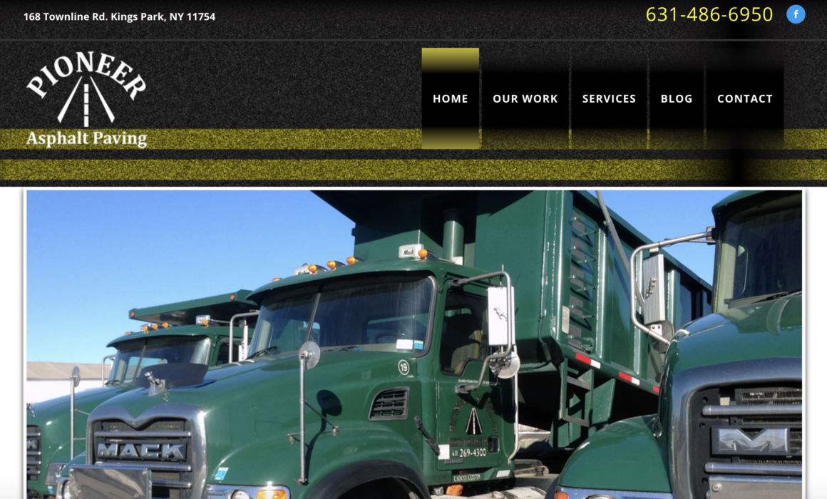 Pioneer Asphalt Paving Launches A New Website